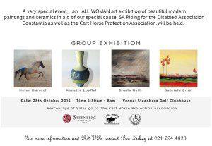 group exhibition social media